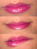 my lips with power shine satin lipstick